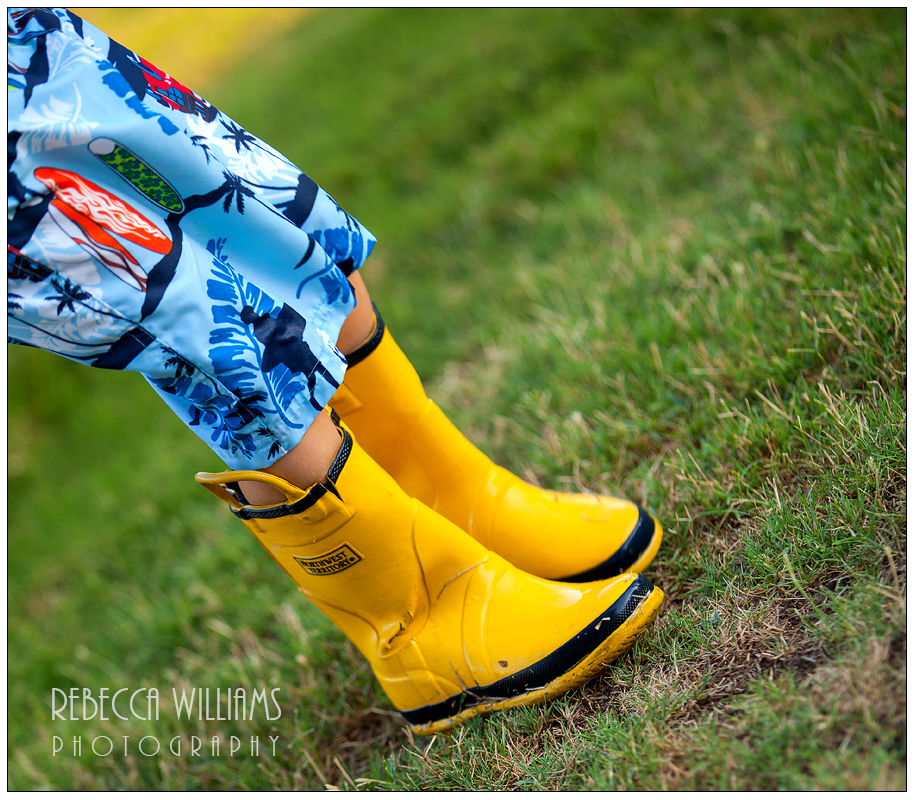 Yellow Rainboots